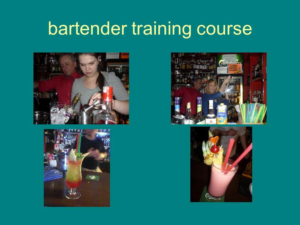 bartender training course