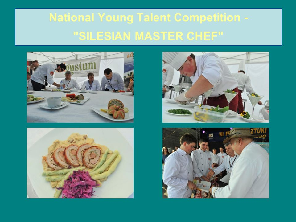 National Young Talent Competition - SILESIAN MASTER CHEF