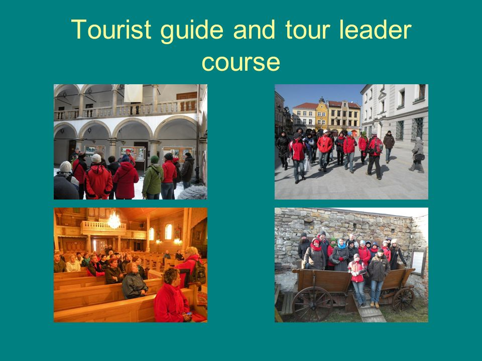Tourist guide and tour leader course