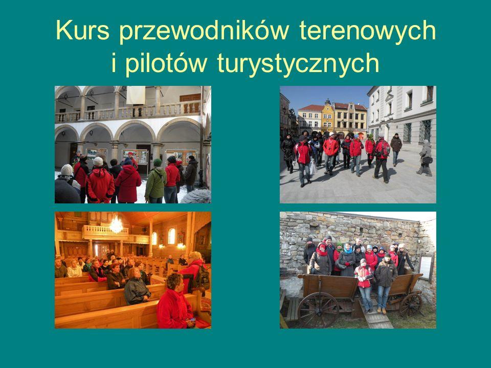 Kurs przewodników terenowych i pilotów turystycznych