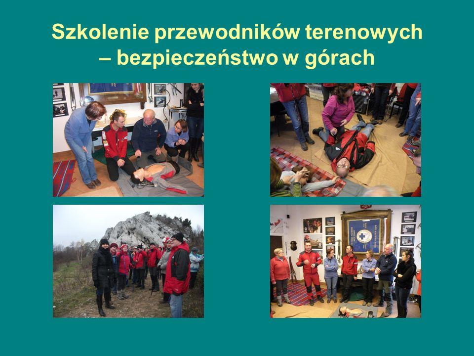 Szkolenie przewodników terenowych – bezpieczeństwo w górach