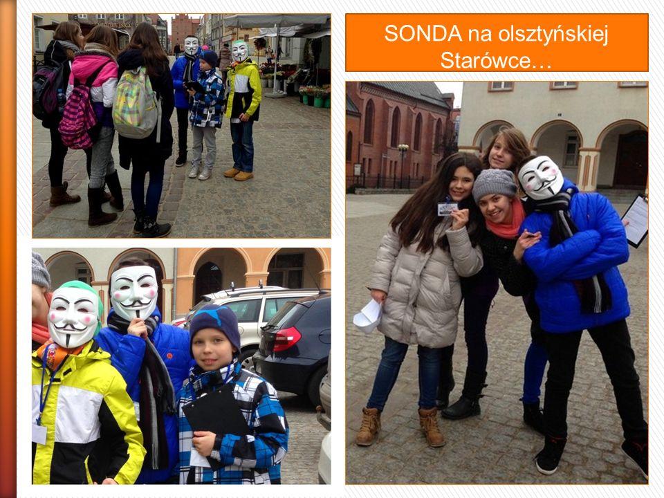 SONDA na olsztyńskiej Starówce…