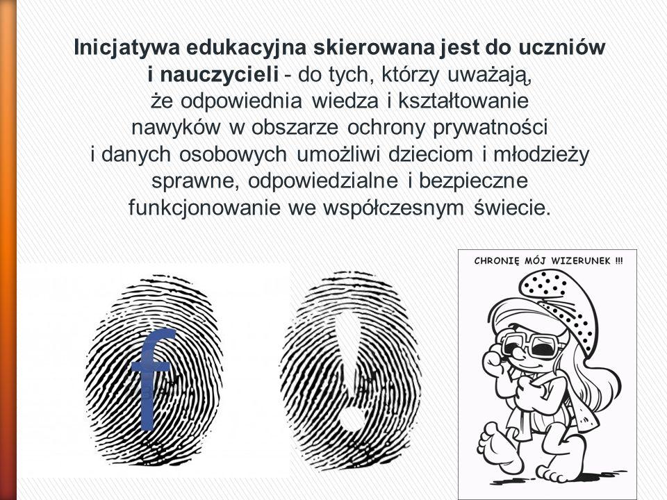 Inicjatywa edukacyjna skierowana jest do uczniów i nauczycieli - do tych, którzy uważają, że odpowiednia wiedza i kształtowanie nawyków w obszarze och