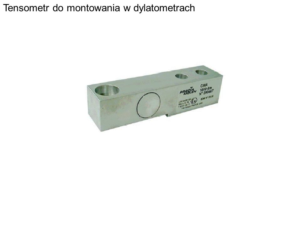 Tensometr do montowania w dylatometrach