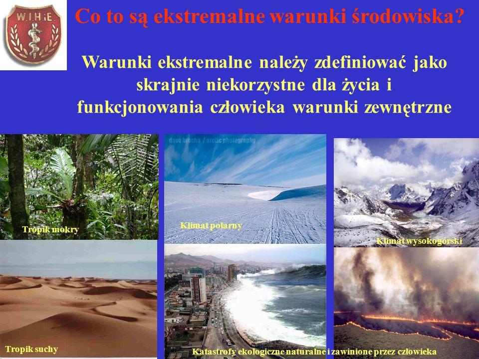 Co to są ekstremalne warunki środowiska.