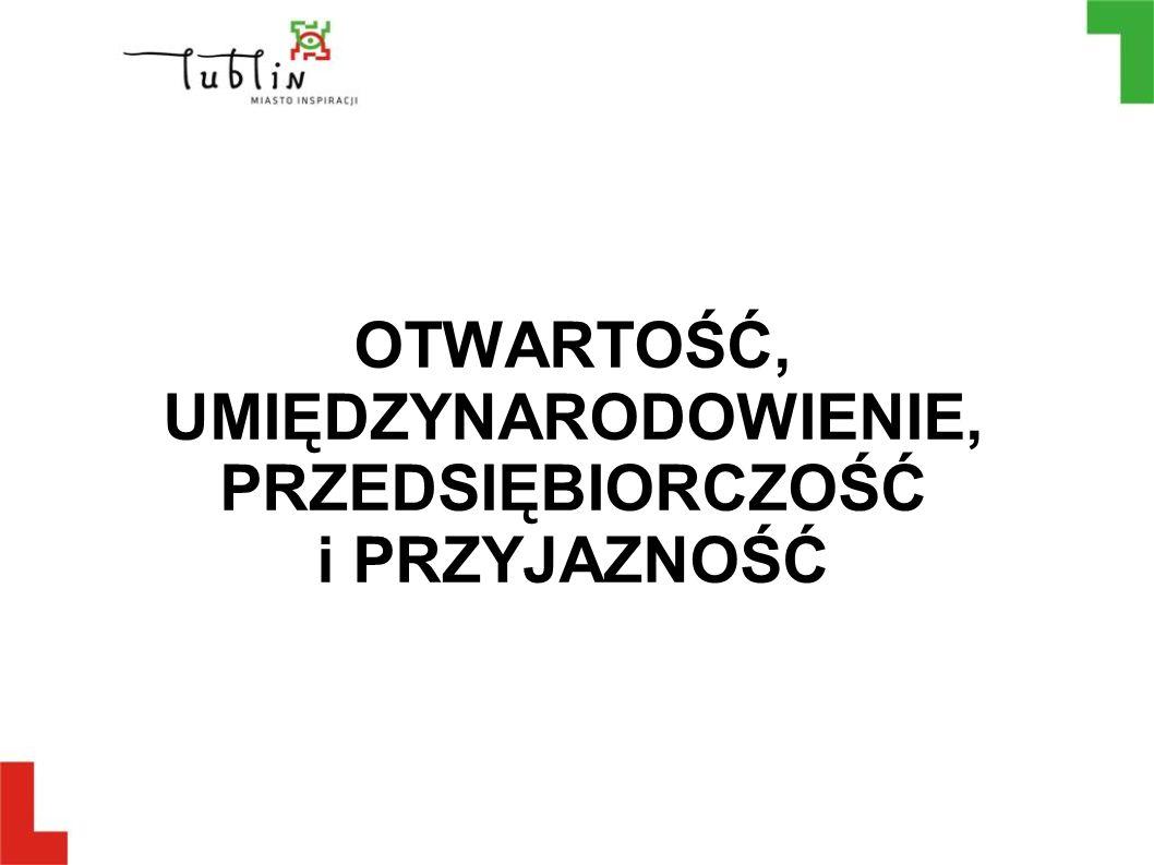 Przewagi konkurencyjne Lublina Wysoki potencjał akademicki Lublina – zarówno ze względu na liczbę uczelni, kierunków studiów i studentów, jak i jakość kształcenia (studia doktoranckie) oraz możliwość prowadzenia projektów naukowo-badawczo-wdrożeniowych w wielu dziedzinach.