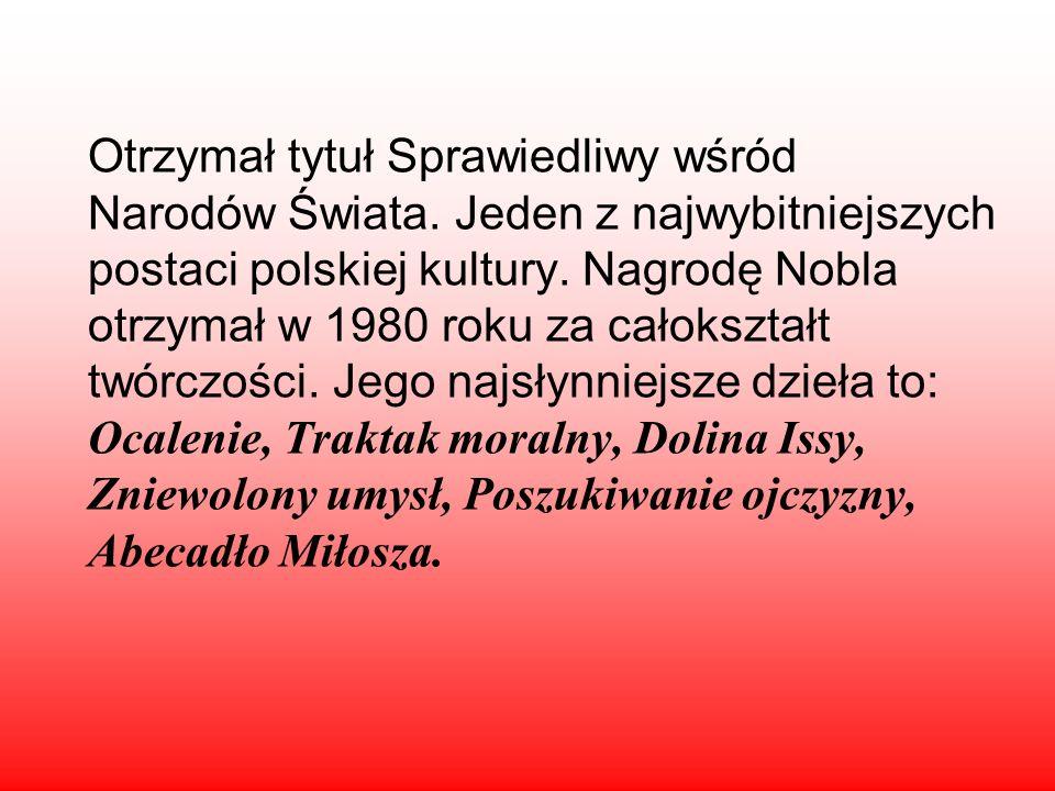 Urodził się 30 czerwca 1911 w Szetejniach na Litwie. Zmarł 14 sierpnia 2004 w Krakowie Polski oraz litewski poeta, laureat literackiej Nagrody Nobla w