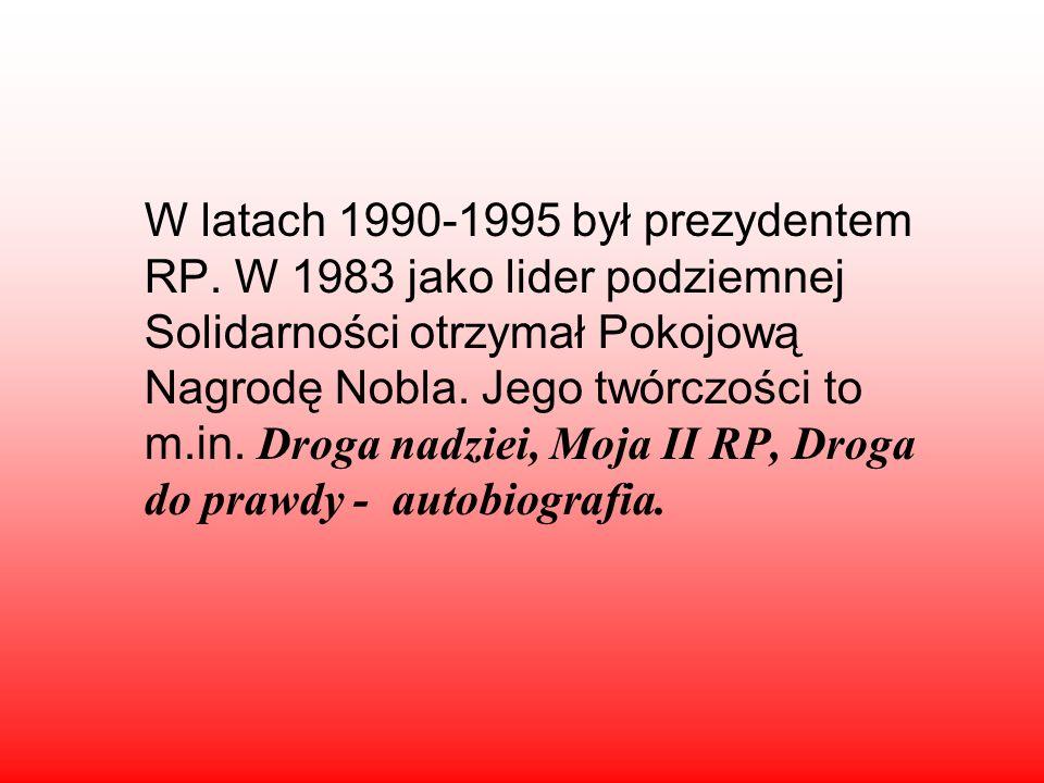 Urodził się 29 września 1943 roku w Popowie. Polski działacz związkowy, polityk, wykształcenie zawodowe, z zawodu elektryk.