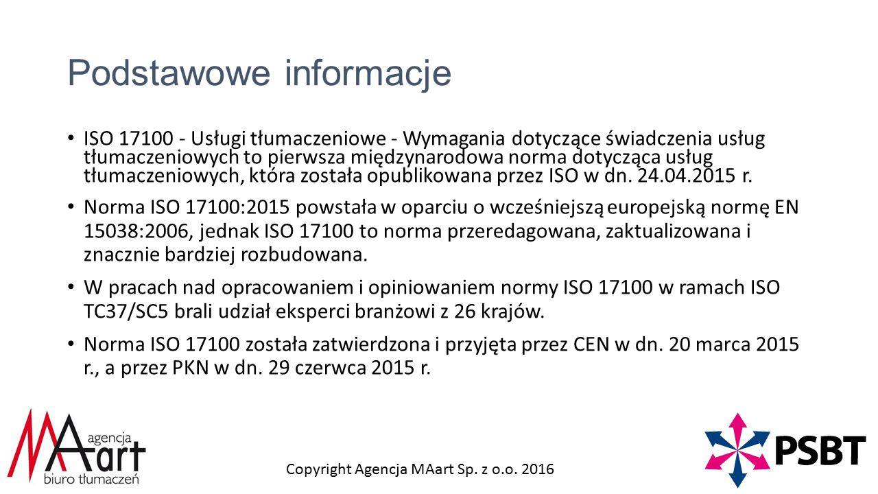 Copyright Agencja MAart Sp. z o.o.