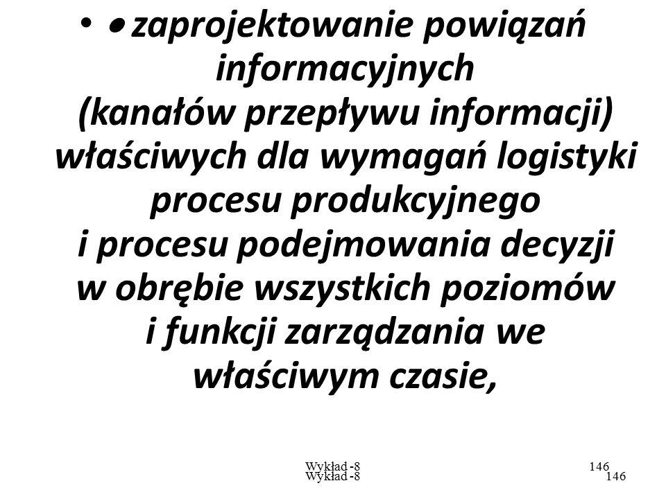 Wykład -8145 Wykład -8145 C  systemu informatycznego:  selekcja informacji i wyodrębnienie informacji istotnych z punktu widzenia podstawowych celów