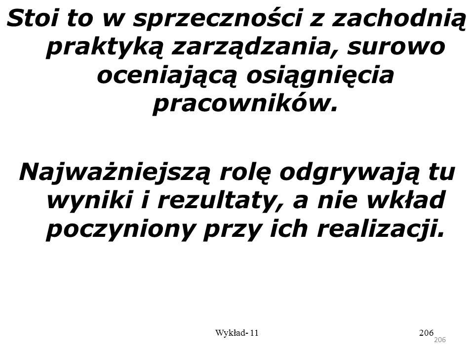 205 Wykład- 11205 Podstawowe informacje o filozofii Kaizen Ważnym aspektem Kaizen jest akcentowanie terminu proces. Zorientowany na proces sposób myśl