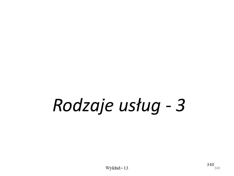 339 Wykład- 12 - cz.3 339 Rys. Zakres usług oferowanych w zakresie doradztwa logistycznego, na podstawie:
