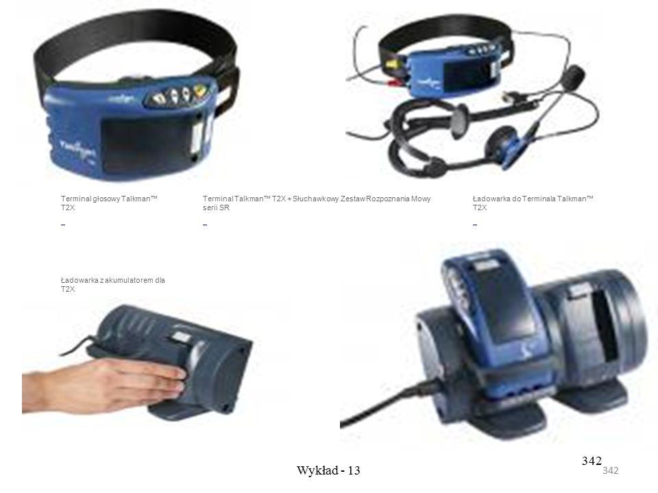 341 Wykład - 13 341 Bezprzewodowa wolność z słuchawkami SRX Słuchawki Vocollect® SRX z rozpoznaniem mowy jako pierwsze używają bezprzewodowej technolo