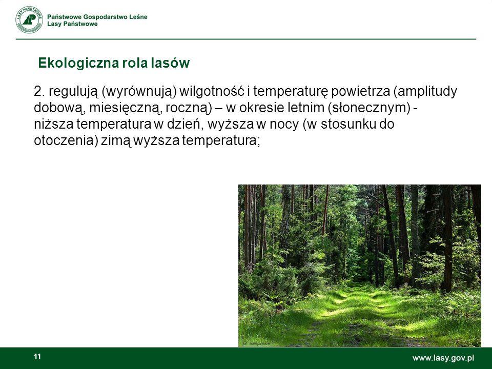 11 Ekologiczna rola lasów 2.