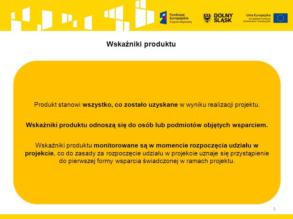 5 Produkt stanowi wszystko, co zostało uzyskane w wyniku realizacji projektu.