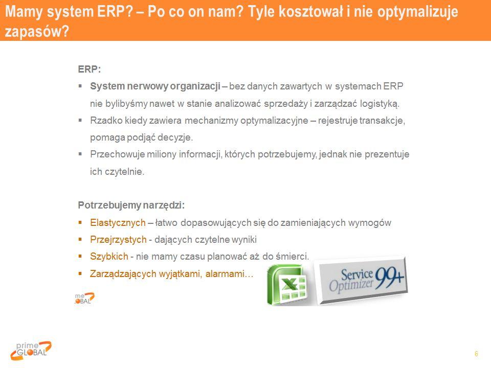 Mamy system ERP? – Po co on nam? Tyle kosztował i nie optymalizuje zapasów? 6