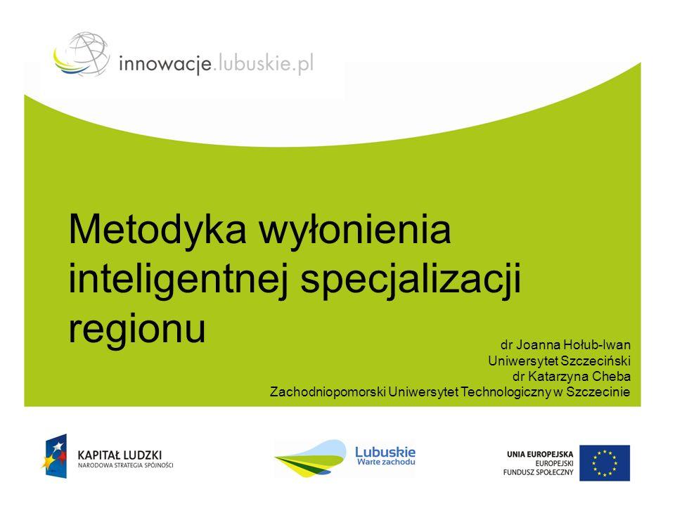 Definicje Inteligentna specjalizacja Inteligentna specjalizacja to ścisłe powiązanie działalności badawczo-rozwojowej, rozwoju kapitału ludzkiego (kwalifikacji oraz umiejętności pracowników) i specyfiki gospodarczej regionów lub państw.