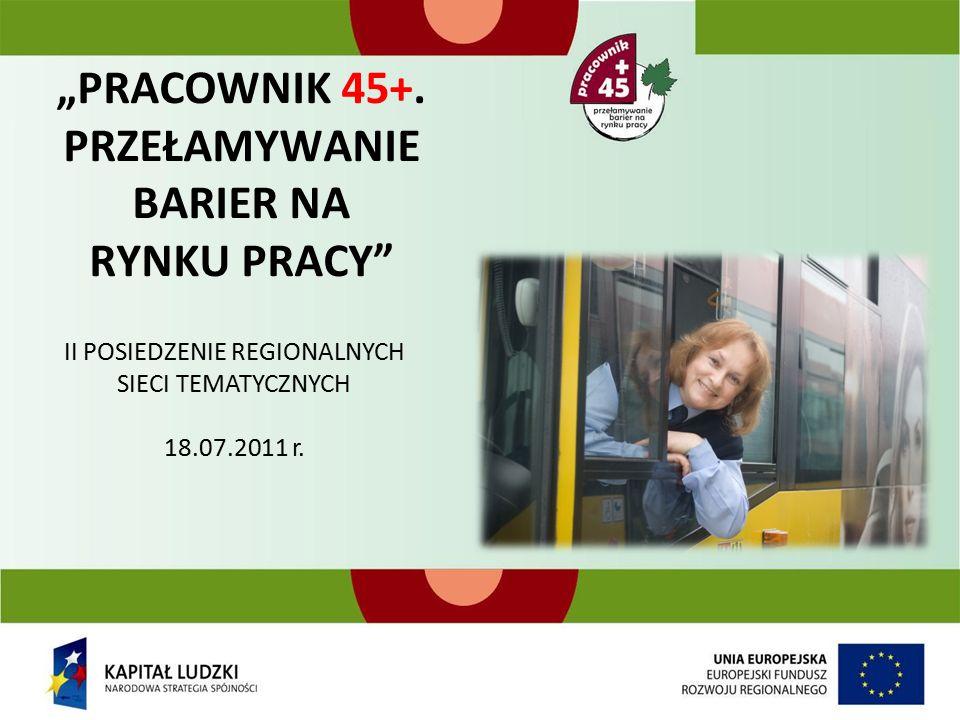 """""""PRACOWNIK 45+."""