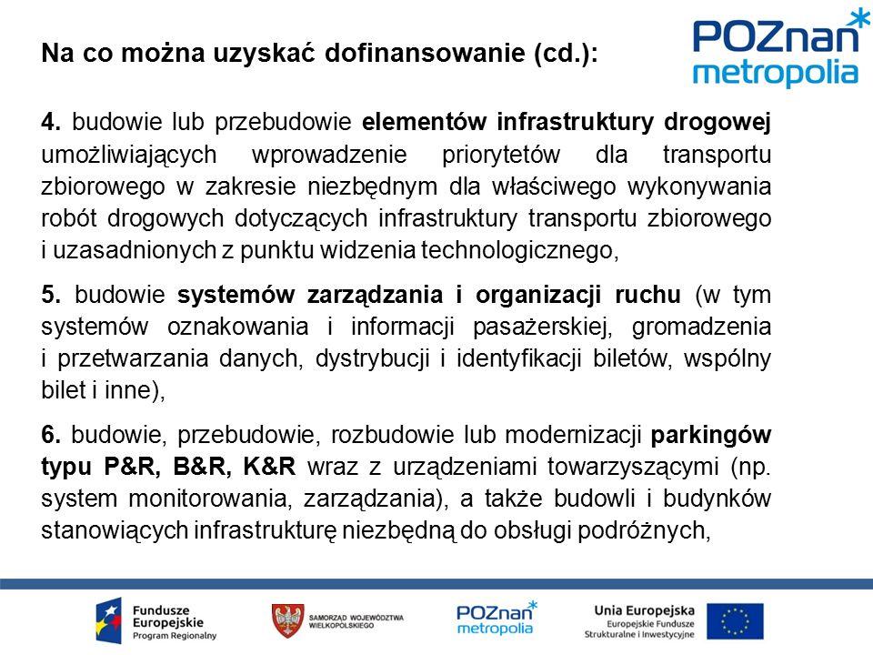 7.zakupie autobusów niskoemisyjnych służących do dowożenia pasażerów do ZWP, 8.
