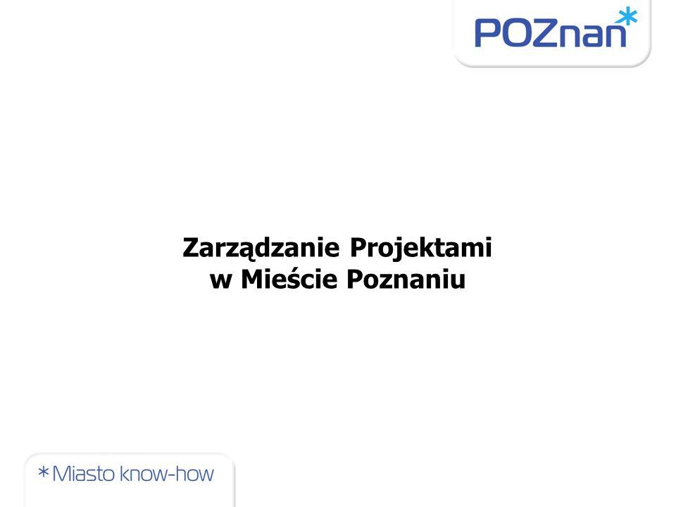 Zarządzanie Projektami w Mieście Poznaniu