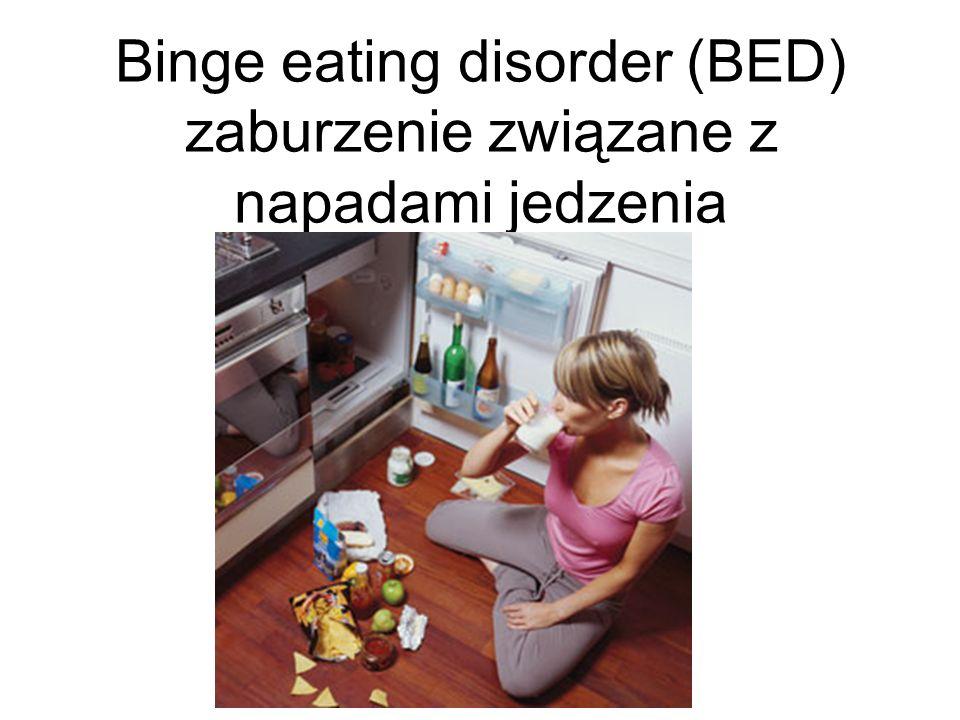 Binge eating disorder (BED) zaburzenie związane z napadami jedzenia