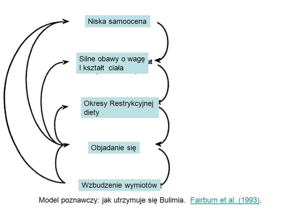 Model poznawczy: jak utrzymuje się Bulimia. Fairburn et al.