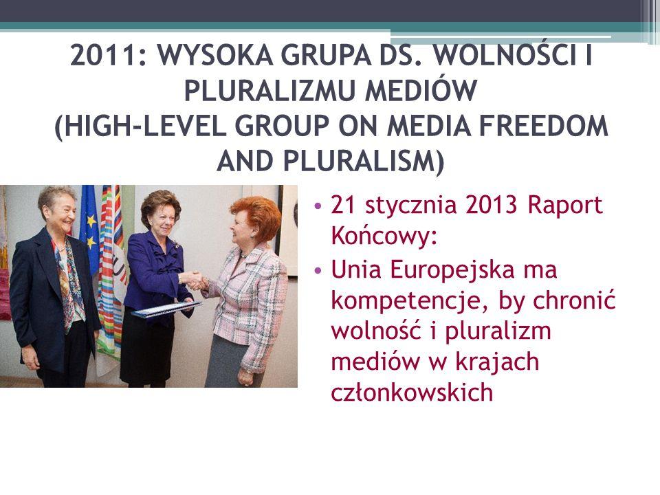 2011: WYSOKA GRUPA DS.