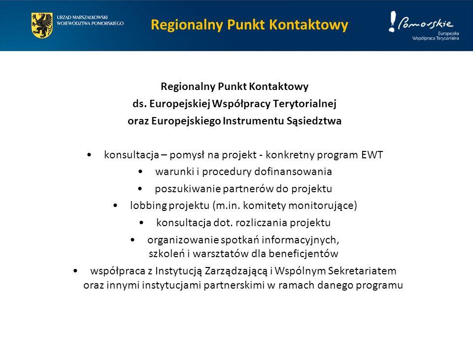 Regionalny Punkt Kontaktowy ds.