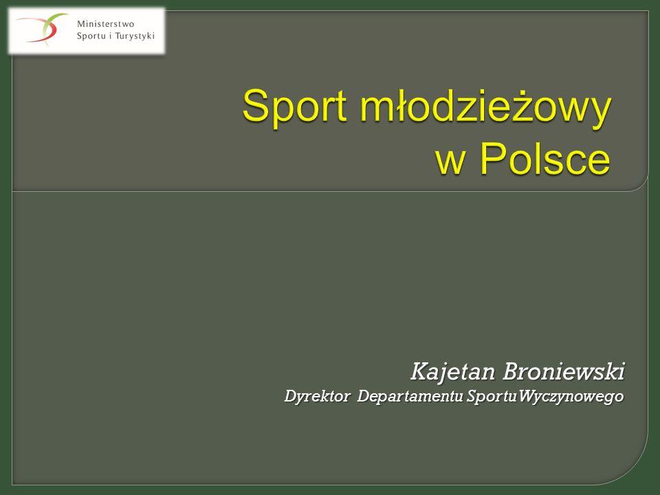 Kajetan Broniewski Dyrektor Departamentu Sportu Wyczynowego