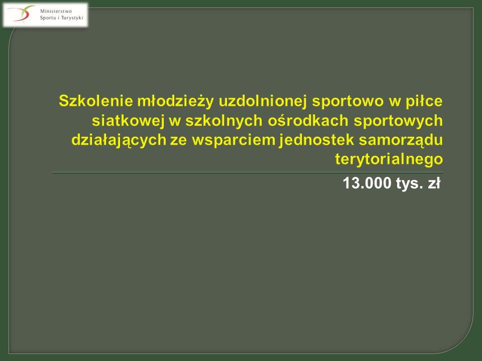 13.000 tys. zł