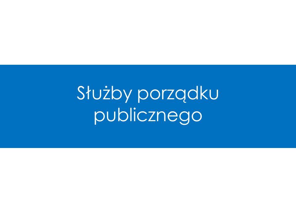 Służby porządku publicznego