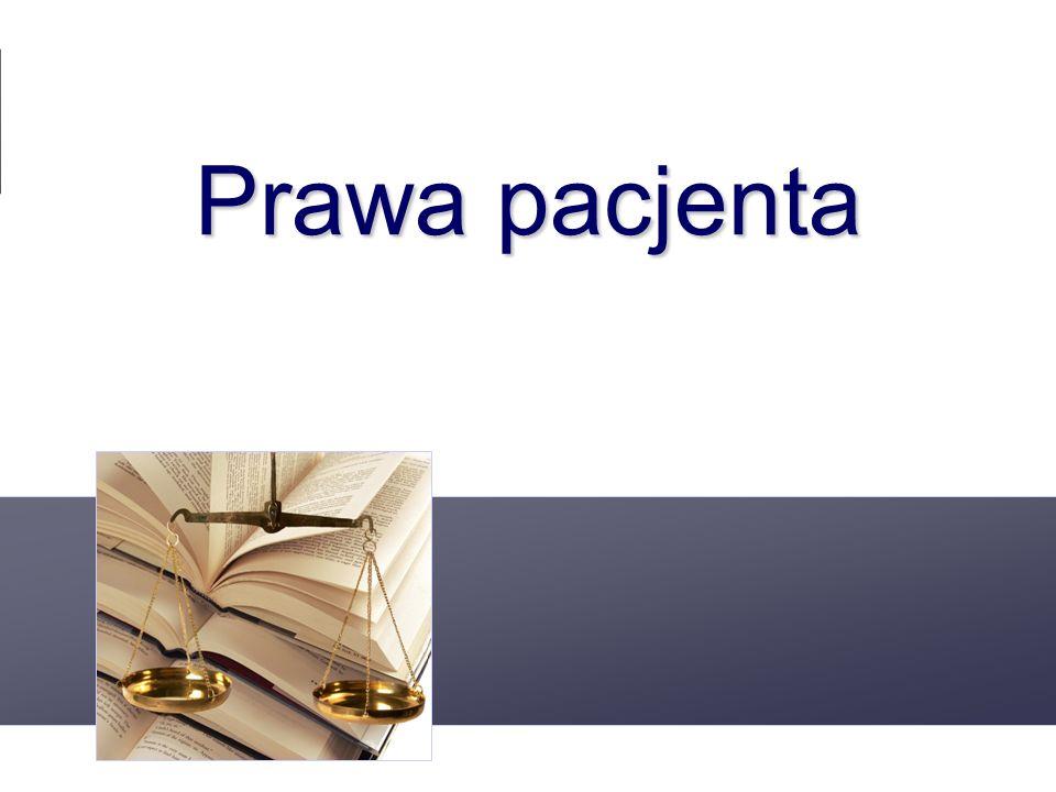 www.prawo.med.pl Prawa pacjenta