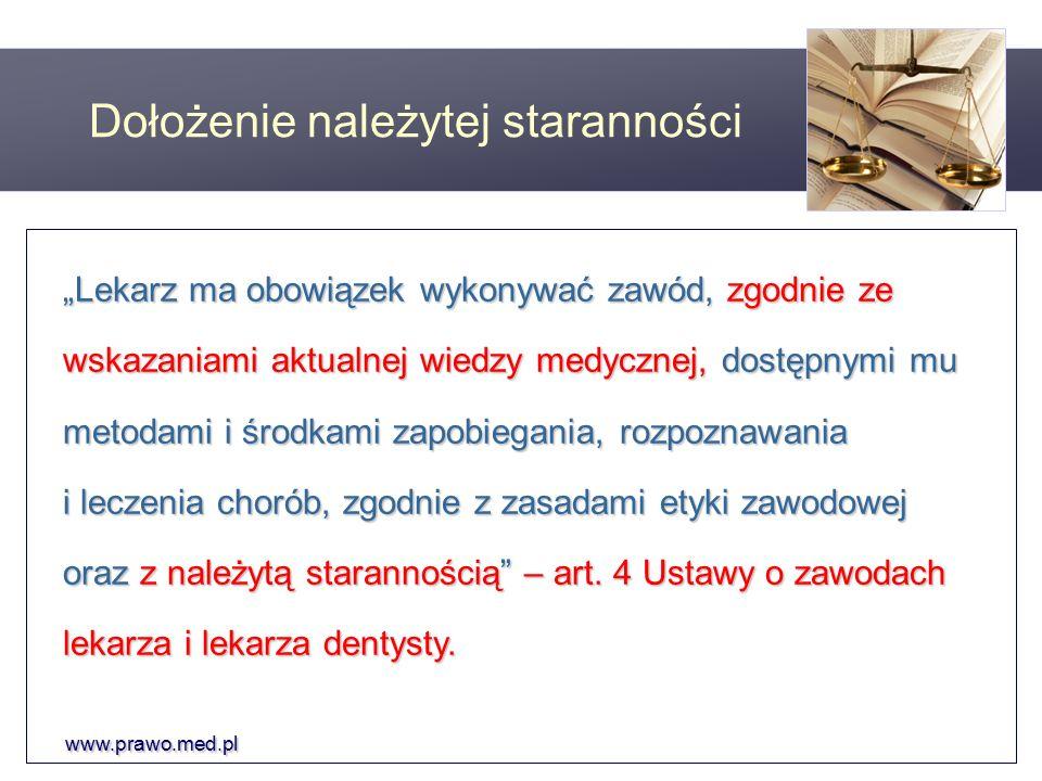www.prawo.med.pl Odpowiedzialność karna