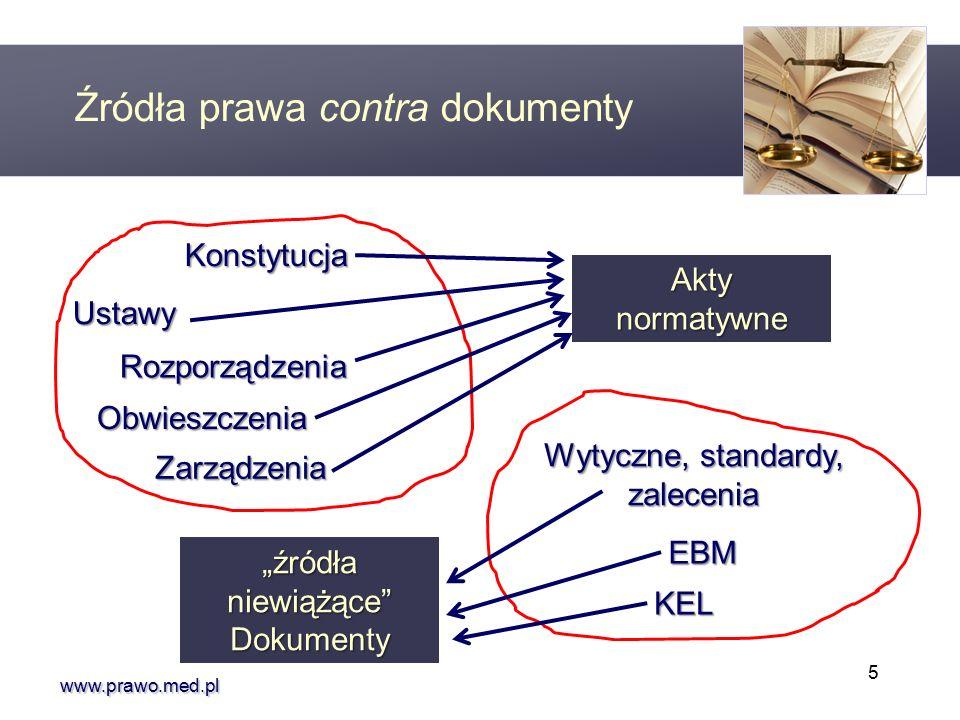 """www.prawo.med.pl Dotychczas w drodze aktów prawnych zostały wydane między innymi """"standardy : Charakter prawny standardów medycznych § Standardy dotyczące zasad stwierdzania śmierci mózgowej (Obwieszczenie MZ z 17.07.2007 r., MP 2007 r., nr 46, poz."""