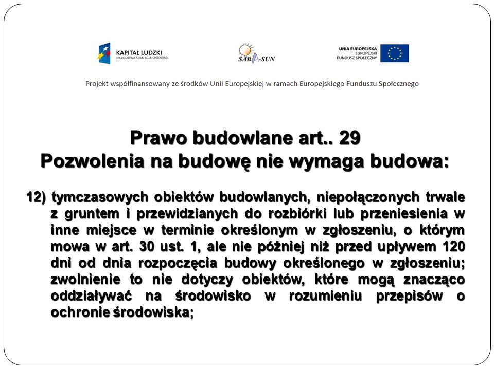 Prawo budowlane art..