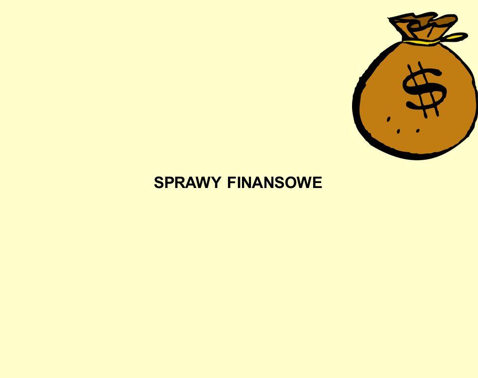 SPRAWY FINANSOWE
