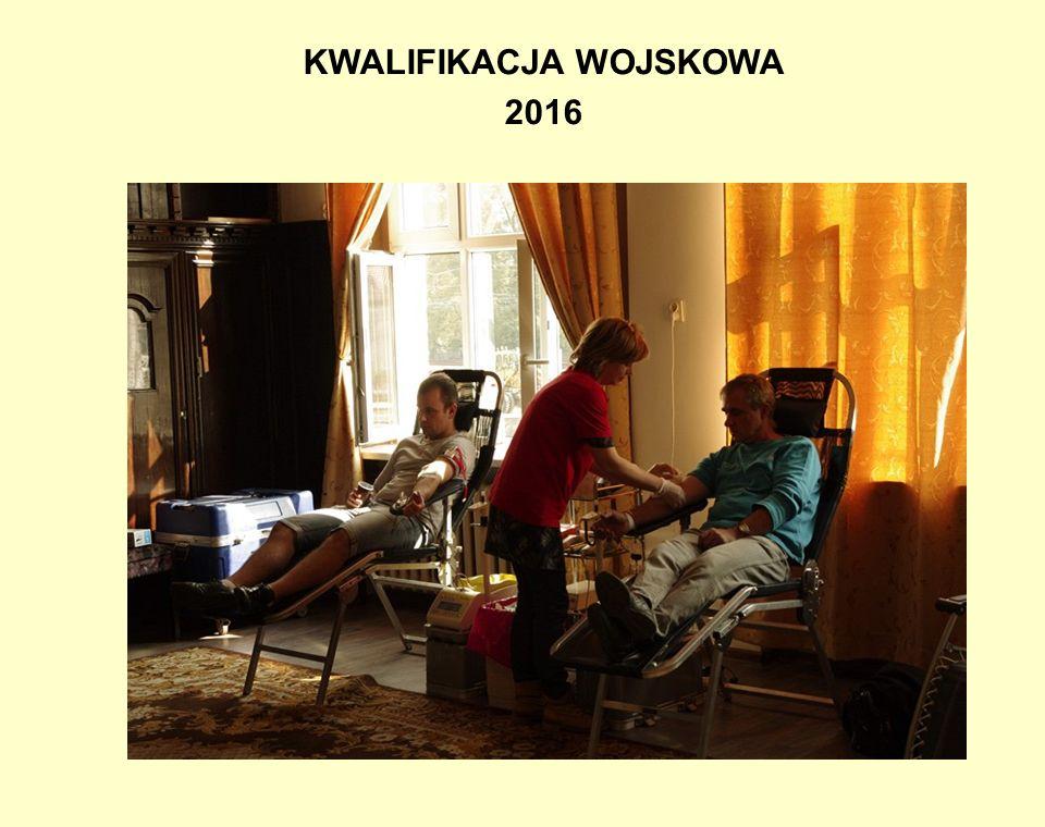 KWALIFIKACJA WOJSKOWA 2016