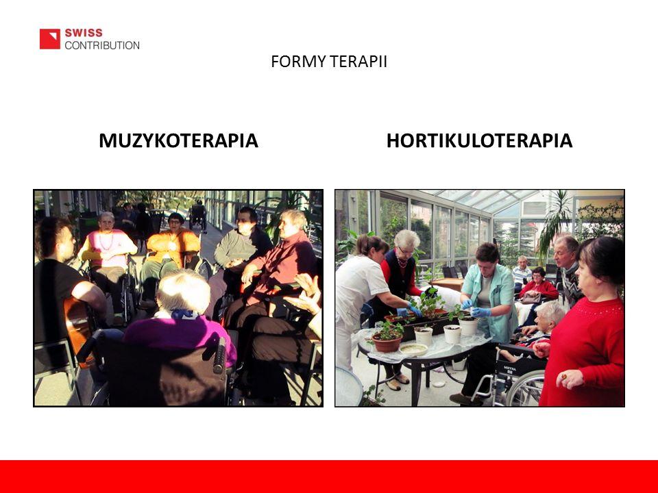 FORMY TERAPII MUZYKOTERAPIAHORTIKULOTERAPIA
