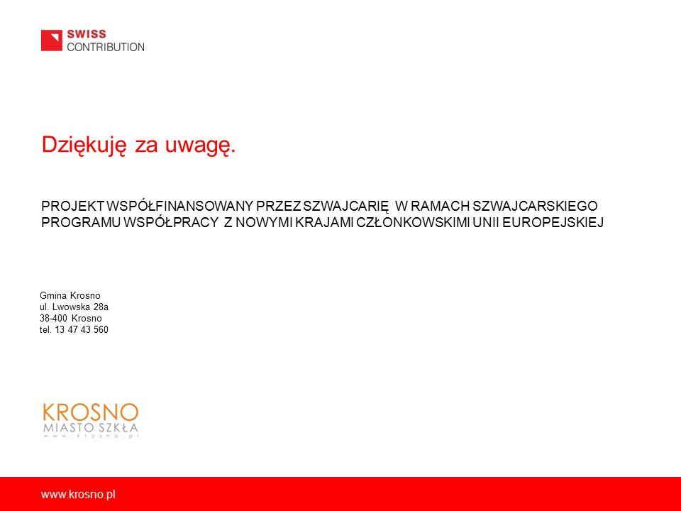 www.krosno.pl Dziękuję za uwagę.
