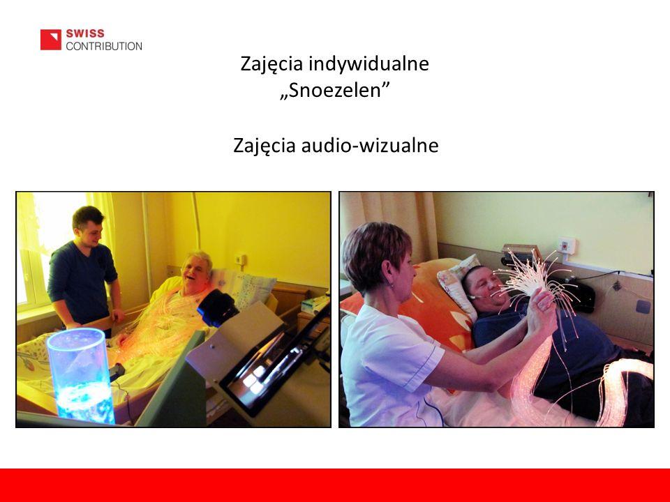 """Zajęcia audio-wizualne Zajęcia indywidualne """"Snoezelen"""