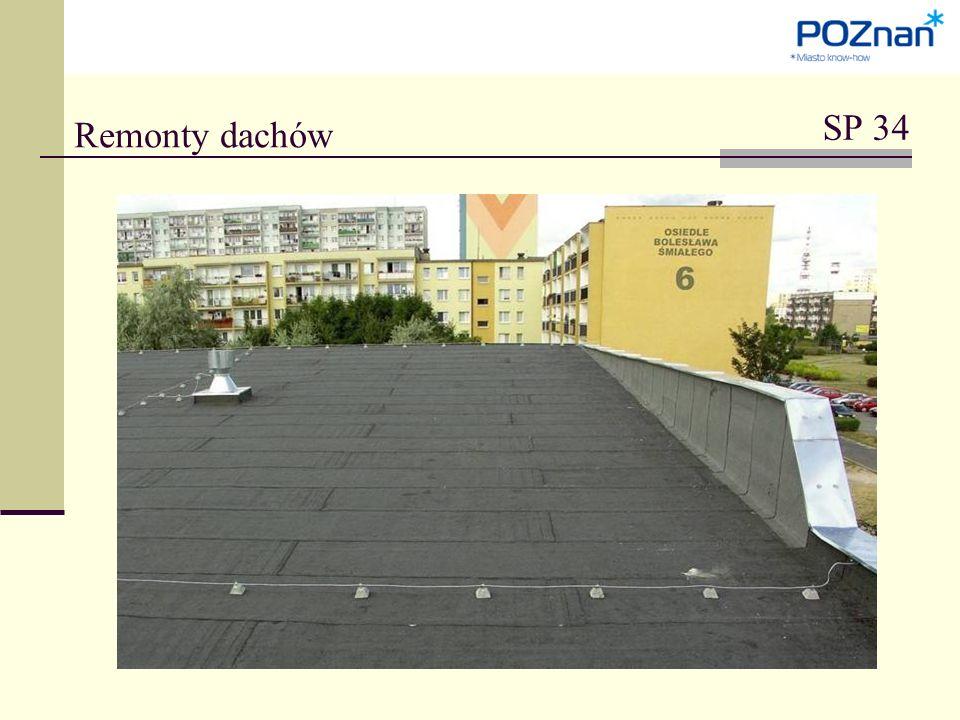 Remonty dachów SP 34
