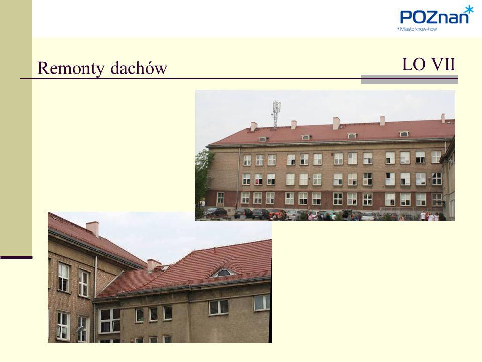 Remonty dachów LO VII