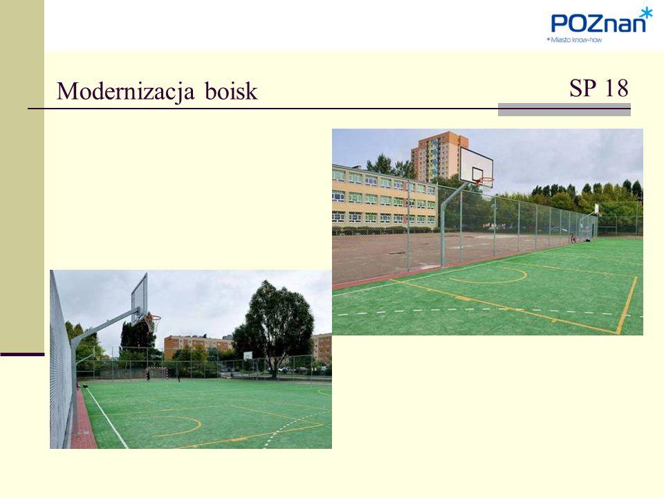 Modernizacja boisk SP 18