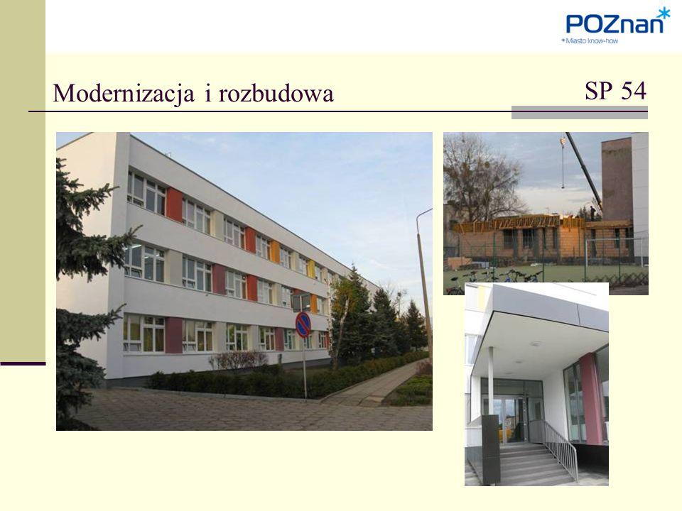 SP 54 Modernizacja i rozbudowa