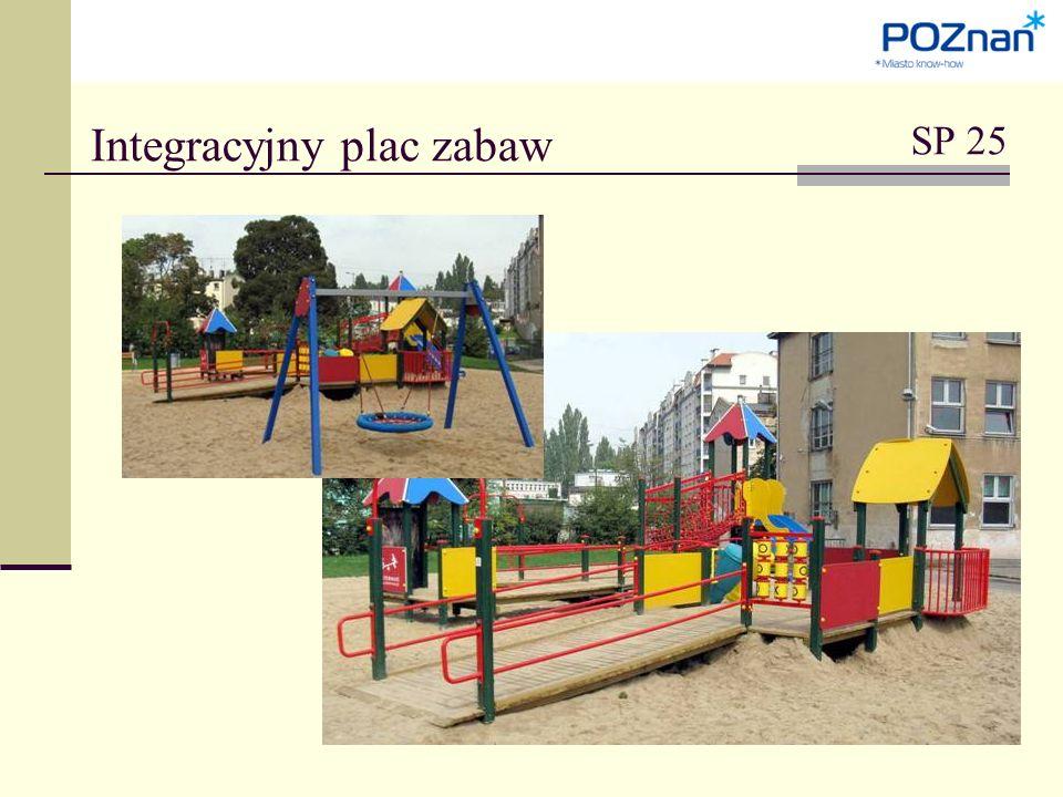 Integracyjny plac zabaw SP 25
