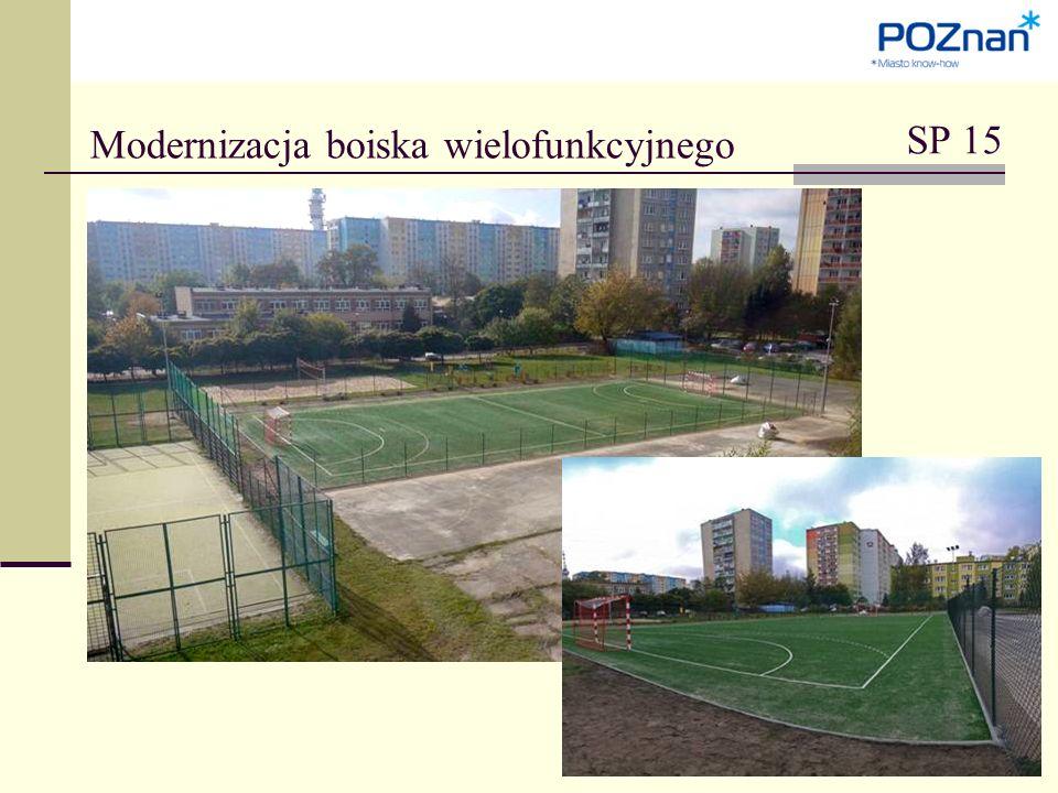 Modernizacja boiska wielofunkcyjnego SP 15
