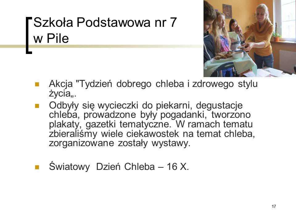 17 Szkoła Podstawowa nr 7 w Pile Akcja