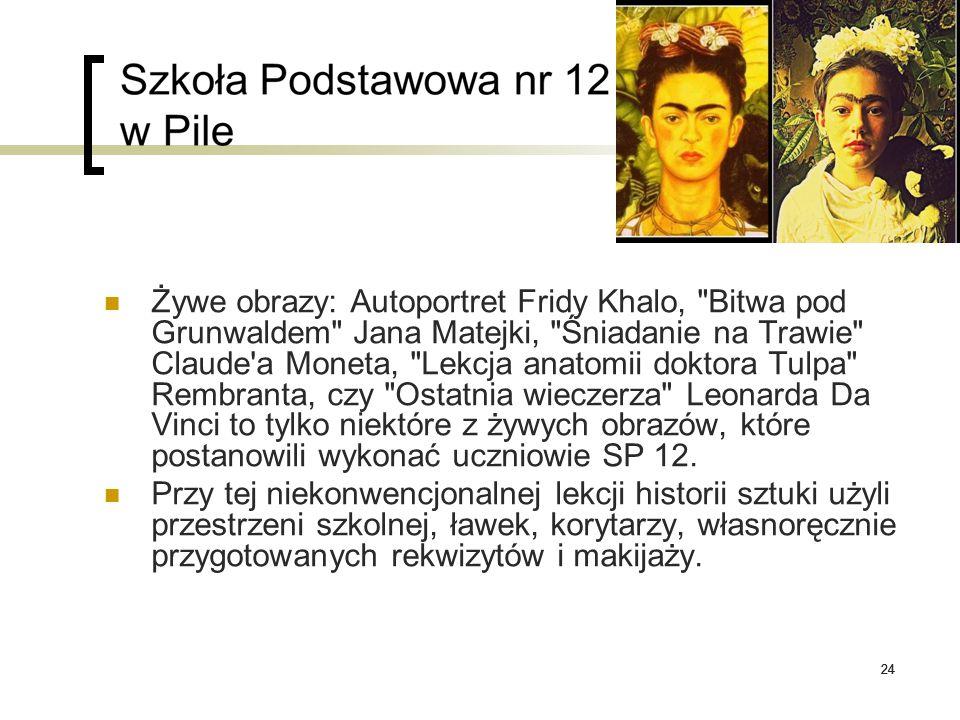24 Żywe obrazy: Autoportret Fridy Khalo,