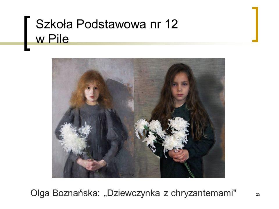 """25 Olga Boznańska: """"Dziewczynka z chryzantemami"""