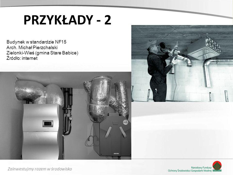 Zainwestujmy razem w środowisko PRZYKŁADY - 2 Budynek w standardzie NF15 Arch.